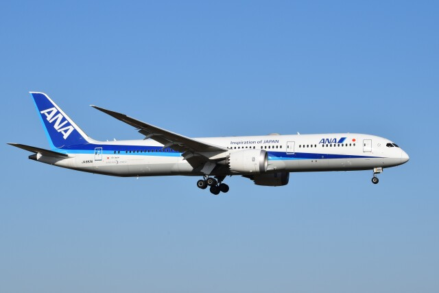 PIRORINGさんが、成田国際空港で撮影した全日空 787-9の航空フォト(飛行機 写真・画像)