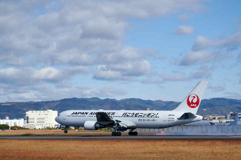 平凡なおっちゃんさんの日本航空 Boeing 767-300 (JA613J) 航空フォト
