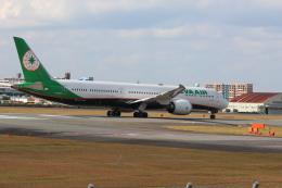 鷹奴さんが、福岡空港で撮影したエバー航空 787-10の航空フォト(飛行機 写真・画像)