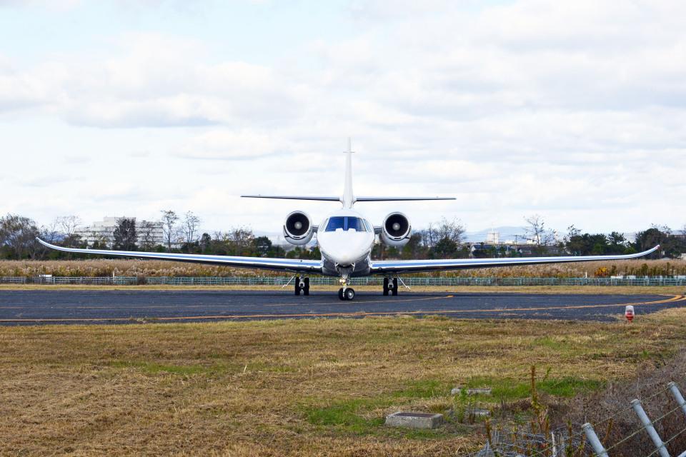 Gambardierさんのノエビア Cessna 680 Citation Sovereign/Sovereign+ (JA680N) 航空フォト