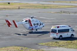 Gambardierさんが、岡南飛行場で撮影したセントラルヘリコプターサービス BK117C-1の航空フォト(飛行機 写真・画像)