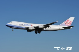 tassさんが、成田国際空港で撮影したチャイナエアライン 747-409F/SCDの航空フォト(飛行機 写真・画像)