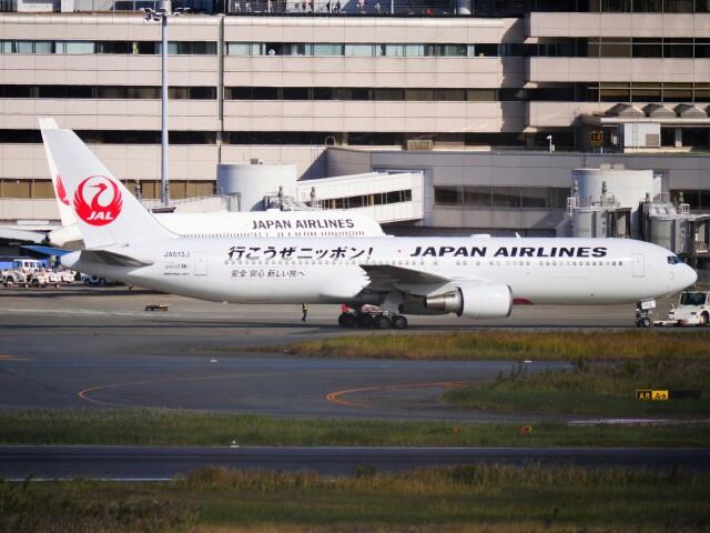 mich_stoneさんが、羽田空港で撮影した日本航空 767-346/ERの航空フォト(飛行機 写真・画像)