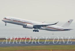 AIRFORCE ONEさんが、羽田空港で撮影したドイツ空軍 A350-941の航空フォト(飛行機 写真・画像)