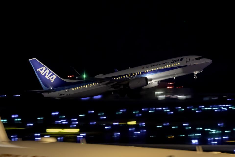 K.Sさんの全日空 Boeing 737-800 (JA81AN) 航空フォト