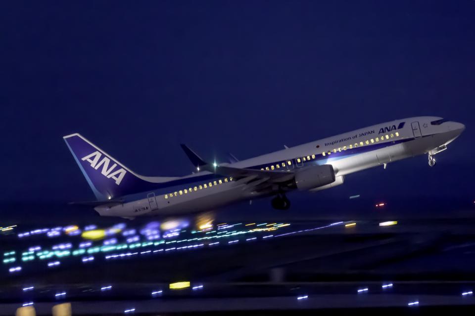 K.Sさんの全日空 Boeing 737-800 (JA57AN) 航空フォト