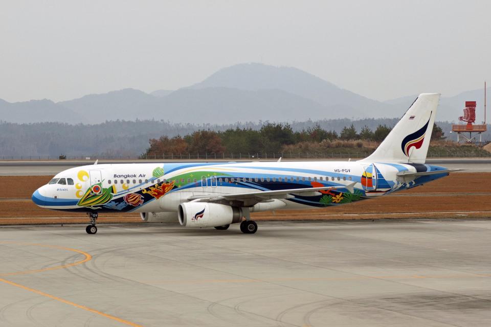 Gambardierさんのバンコクエアウェイズ Airbus A320 (HS-PGV) 航空フォト