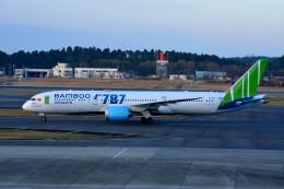 ちかぼーさんが、成田国際空港で撮影したバンブー・エアウェイズ 787-9の航空フォト(飛行機 写真・画像)