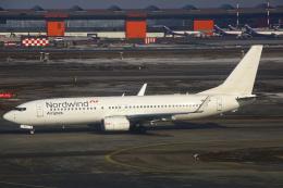 ちゅういちさんが、シェレメーチエヴォ国際空港で撮影したノードウィンド航空 737-8MEの航空フォト(飛行機 写真・画像)
