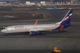 ちゅういちさんが、シェレメーチエヴォ国際空港で撮影したアエロフロート・ロシア航空 737-8LJの航空フォト(飛行機 写真・画像)