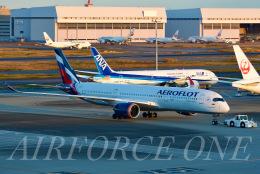 AIRFORCE ONEさんが、羽田空港で撮影したアエロフロート・ロシア航空 A350-941の航空フォト(飛行機 写真・画像)