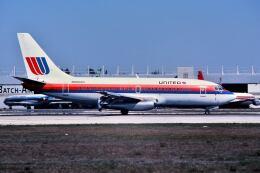 パール大山さんが、マイアミ国際空港で撮影したユナイテッド航空 737-222の航空フォト(飛行機 写真・画像)
