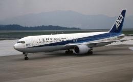 LEVEL789さんが、岡山空港で撮影したワールドエアネットワーク 767-381/ERの航空フォト(飛行機 写真・画像)