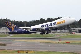 kan787allさんが、成田国際空港で撮影したアトラス航空 747-412F/SCDの航空フォト(飛行機 写真・画像)