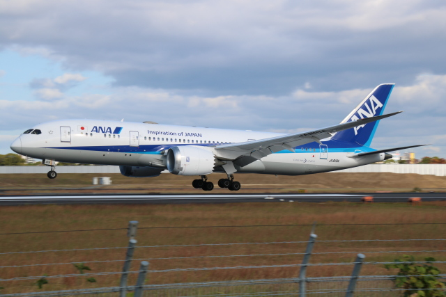 えのびよーんさんが、伊丹空港で撮影した全日空 787-8 Dreamlinerの航空フォト(飛行機 写真・画像)