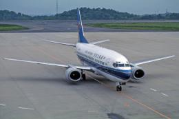 Gambardierさんが、岡山空港で撮影した中国南方航空 737-5Y0の航空フォト(飛行機 写真・画像)