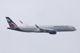 HADAさんが、羽田空港で撮影したアエロフロート・ロシア航空 A350-941の航空フォト(飛行機 写真・画像)