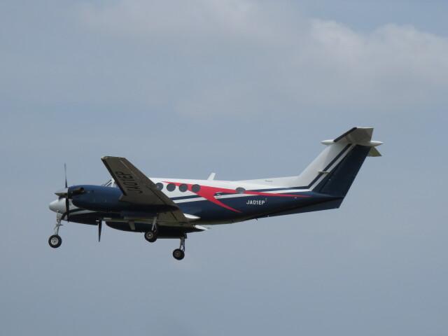 F.YUKIHIDEさんが、岡南飛行場で撮影した日本法人所有 B200 Super King Airの航空フォト(飛行機 写真・画像)