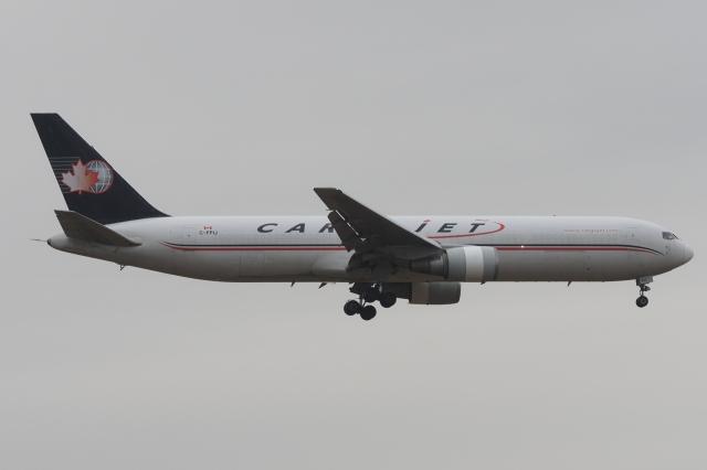 木人さんが、成田国際空港で撮影したカーゴジェット・エアウェイズ 767-33A/ER(BDSF)の航空フォト(飛行機 写真・画像)