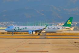 た~きゅんさんが、関西国際空港で撮影した春秋航空 A321-253NXの航空フォト(飛行機 写真・画像)