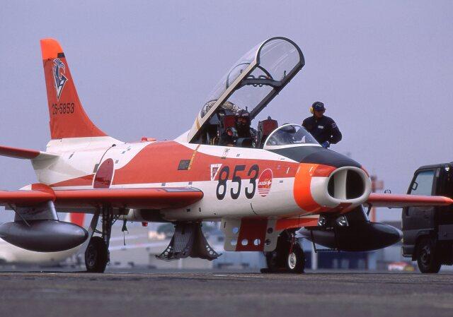 F-4さんが、名古屋飛行場で撮影した航空自衛隊 T-1Bの航空フォト(飛行機 写真・画像)