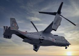 Aurora56さんが、厚木飛行場で撮影したアメリカ海兵隊 MV-22Bの航空フォト(飛行機 写真・画像)