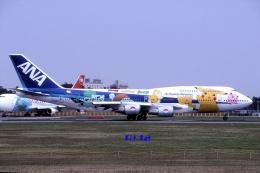 キットカットさんが、成田国際空港で撮影した全日空 747-481の航空フォト(飛行機 写真・画像)