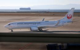 CL&CLさんが、中部国際空港で撮影した日本トランスオーシャン航空 737-8Q3の航空フォト(飛行機 写真・画像)