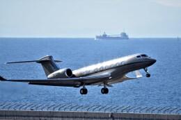 MSN/PFさんが、中部国際空港で撮影したウィルミントン・トラスト・カンパニー G650ER (G-VI)の航空フォト(飛行機 写真・画像)