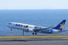 kando-yamaさんが、羽田空港で撮影したスカイマーク 737-86Nの航空フォト(飛行機 写真・画像)