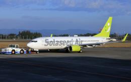 CL&CLさんが、鹿児島空港で撮影したソラシド エア 737-86Nの航空フォト(飛行機 写真・画像)