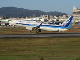 F.YUKIHIDEさんが、伊丹空港で撮影した全日空 737-881の航空フォト(飛行機 写真・画像)