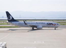 えのびよーんさんが、関西国際空港で撮影した山東航空 737-85Nの航空フォト(飛行機 写真・画像)