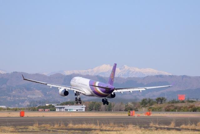 Mark-5さんが、仙台空港で撮影したタイ国際航空 A330-343Xの航空フォト(飛行機 写真・画像)