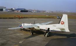 JAパイロットさんが、羽田空港で撮影した全日空 F27-250 Friendshipの航空フォト(飛行機 写真・画像)