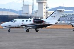 jun☆さんが、名古屋飛行場で撮影した岡山航空 510 Citation Mustangの航空フォト(飛行機 写真・画像)
