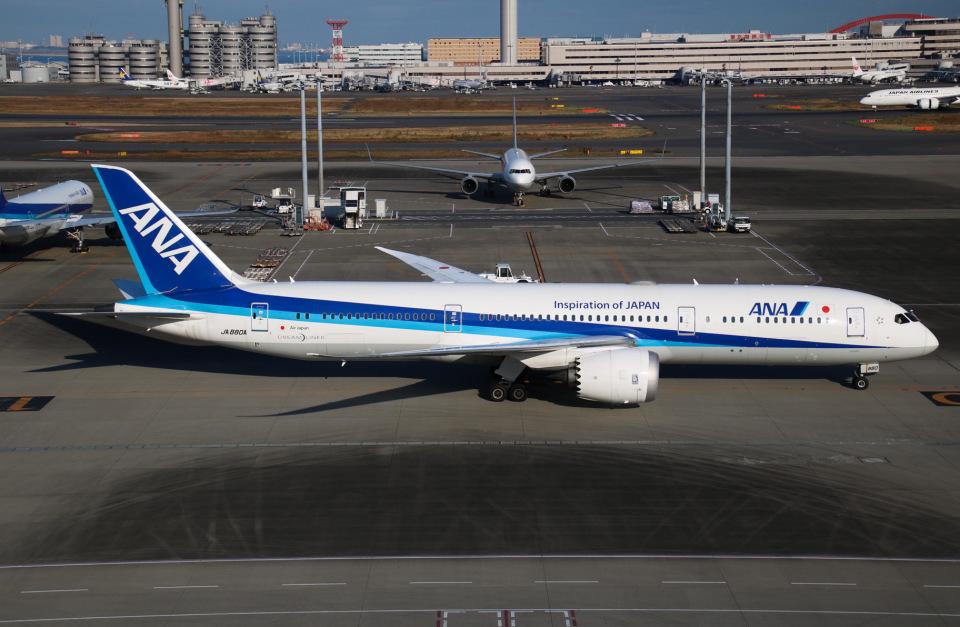 えのびよーんさんの全日空 Boeing 787-9 (JA880A) 航空フォト