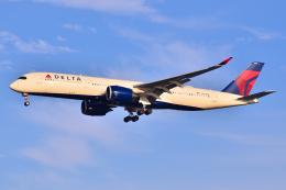 フリューゲルさんが、羽田空港で撮影したデルタ航空 A350-941の航空フォト(飛行機 写真・画像)