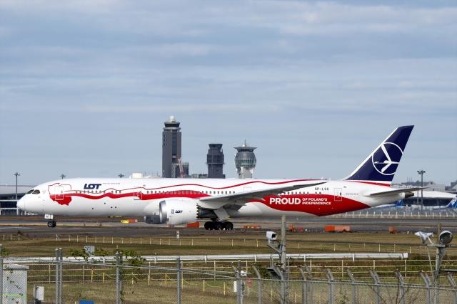 航空フォト:SP-LSC LOTポーランド航空 787-9