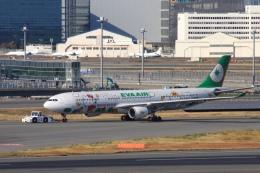 Hiro-hiroさんが、羽田空港で撮影したエバー航空 A330-302Xの航空フォト(飛行機 写真・画像)