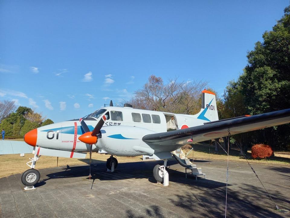 KAZFLYERさんの国土交通省 国土地理院 Beechcraft Queen Air (9101) 航空フォト