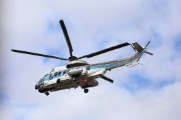 あっきー (汚写真)さんが、羽田空港で撮影した海上保安庁 EC225LP Super Puma Mk2+の航空フォト(飛行機 写真・画像)