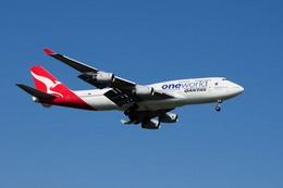 まいけるさんが、スワンナプーム国際空港で撮影したカンタス航空 747-438の航空フォト(写真)
