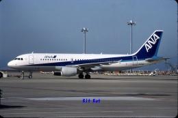キットカットさんが、中部国際空港で撮影した全日空 A320-214の航空フォト(飛行機 写真・画像)