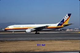 キットカットさんが、伊丹空港で撮影した日本エアシステム A300B4-622Rの航空フォト(飛行機 写真・画像)