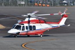 ブルーさんさんが、静岡空港で撮影した横浜市消防航空隊 AW139の航空フォト(飛行機 写真・画像)