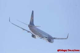 湖景さんが、茨城空港で撮影したスカイマーク 737-82Yの航空フォト(飛行機 写真・画像)