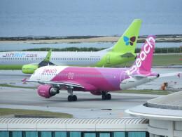 TradelView FUKUROさんが、那覇空港で撮影したピーチ A320-214の航空フォト(飛行機 写真・画像)