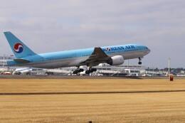 EosR2さんが、鹿児島空港で撮影した大韓航空 777-2B5/ERの航空フォト(飛行機 写真・画像)