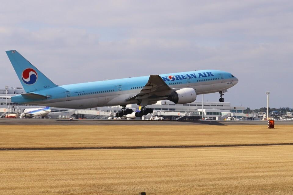 EosR2さんの大韓航空 Boeing 777-200 (HL7751) 航空フォト